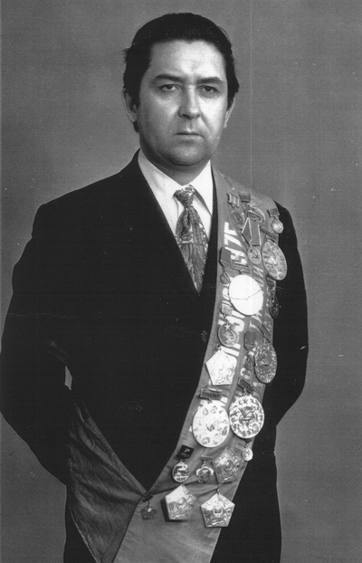 Микола Сядристий - майстер спорту СРСР, абсолютний чемпіон України з підводного спорту